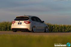 slammed Subaru Impreza