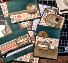 Create a set of handmade cards in a short amount of time using these tips.