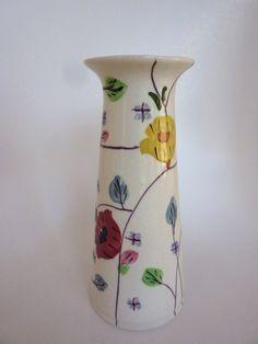 Chintz Vase Southern Potteries Blue Ridge China