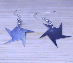 star earrings de tecnoart21 en Etsy