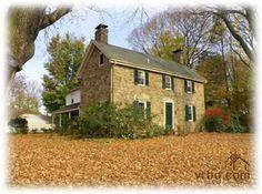 bucks county stone farmhouses - Google Search