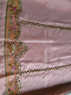 Embroidery Suits Punjabi, Hand Embroidery Dress, Gold Embroidery, Embroidery Designs, Royal Dresses, Indian Dresses, Ladies Suits Indian, Designer Punjabi Suits Patiala, Tiger Print Dress