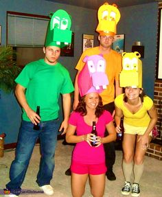 Hungry Hungry Hippos - Halloween Costume Contest via @costumeworks