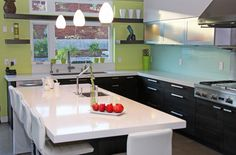 What a beautiful contemporary kitchen that is priced in the budget friendly 1600 line