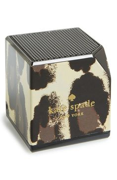 kate spade new york 'leopard' wireless Bluetooth® speaker available at #Nordstrom