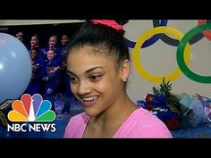 Laurie Hernandez Is First Latina Olympic Gymnast In 30 Years   NBC News - YouTube