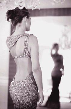 low back dress..
