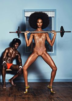 LIMEROOM sport | Joan Smalls by Lachlan Bailey for Industrie Magazine #7
