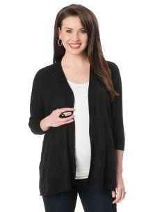 3/4 Sleeve Open Front Maternity Cardigan   Product #: 95376   $49.98  Motherhood Canada