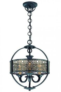 Armory Chandelier - Chandeliers - Ceiling Fixtures - Lighting | HomeDecorators.com