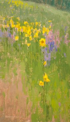 ❀ Blooming Brushwork ❀ - garden and still life flower paintings - David Grossmann