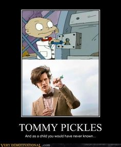 Love rugrats! How awesome!!! And I've seen one of Chucky in a toystore next to what looks just like a Dalek!