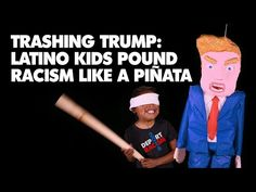 [VIDEO] Obscene Language Warning: A Bunch of Little Kids Cuss out Trump in New Political Ad -  NOVEMBER 6, 2015 In certainly one of the more eyebrow-raising political ads thus far in the 2016 campaign, a bunch of little kids cuss out Trump. From the video's description on YouTube: Look out Trump! Latino kids born in the USA have got something … Continue reading → DISGUSTING.... THEY ALL NEED TO GO BACK TO THEIR COUNTRIES..