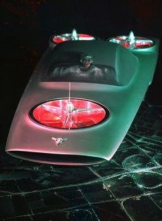 Ford Volante concept car model, 1957,Concept Car