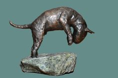 The Bullie pounce, in bronze :) ....love!
