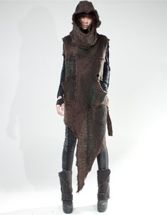 OVER VEST BROWN SHEPHERD | OVER COATS | DEMOWOMAN | DEMOBAZA Store