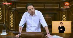 Primera intervención de Pablo Iglesias en el debate de investidura CON CLARIDAD, VALENTÍA, DIRECTO Y CON CONCRECCIÓN