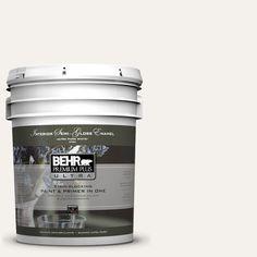 BEHR Premium Plus Ultra 5-gal. #W-B-200 Popped Corn Semi-Gloss Enamel Interior Paint