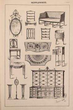 English Hepplewhite Furniture Designs Large By PaperPopinjay