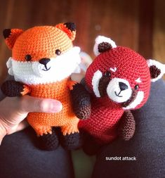 flynn and rudy's pattern by sundotattack #amigurumi #crafts #crochet