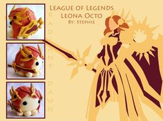 League of Legends Leona octopus plush. Made and sold at Otakuthon 2013