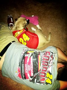 Thanks to @MegHawn on Twitter for this cute #pet pic! @Jeff Gordon #NASCAR #FurryFriends