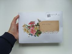a flower envelope