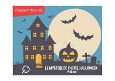 Le Mystère de l'hôtel Halloween - 9-12 ans