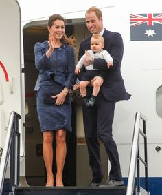 Next, The Royal party will travelled to Wellington Airport at lunchtime for the three-hour-flight to Sydney.
