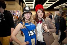 Dr. Who cosplay at Emerald City Comicon 2013.
