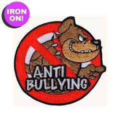 Anti Bullying Fun Patch. See all of our patches on PatchFun.com