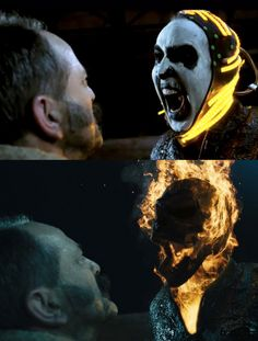 Visual effects for Ghost Rider