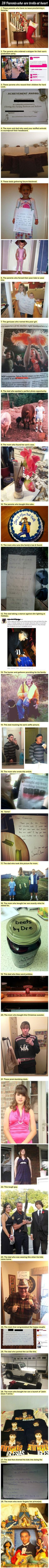 Awesome parents! These are funny!
