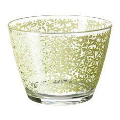 """GODTA bowl, green Diameter: 4 """" Height: 3 """" Diameter: 11 cm Height: 8 cm"""