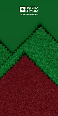 Combinación de moqueta ferial color burdeos con green para stands, ferias, congresos y eventos. #Your