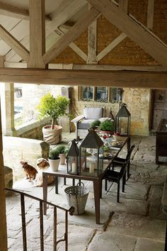 Discover the country garden of Richard Parr's Cotswolds farmhouse on HOUSE - design, food and travel by House & Garden.