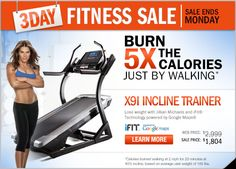 jillian michaels deal of the day x9i incline trainer - Google Search