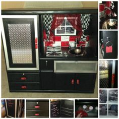 "saw this awesome ""boys"" play kitchen on Craig's List"