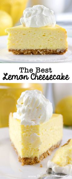 Best Lemon Cheesecak