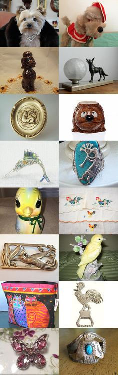 Animal Planet of Vintage Explosion team! by Stanislavs Skupovskis on Etsy--Pinned with TreasuryPin.com