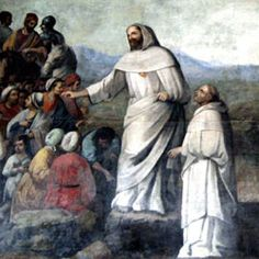 St. Raymond Nonnatus, Roman Catholic Priest. He remained as hostage for several slaves when his money ran out and was sentenced to be impaled when the governor learned that he had converted several Mohammedans. He escaped the death sentence because of the ransom he would bring, but was forced to run the gauntlet. He was then tortured for continuing his evangelizing activities but was ransomed eight months later by Peter Nolasco. Feastday Aug 31