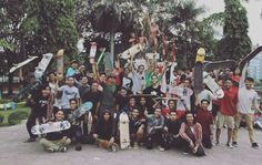 MYC STILL ALIVE #skateday2015 #pekalonganskateboard