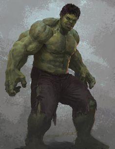 #Hulk #Fan #Art. (The Hulk) By: Ray1989. (THE * 5 * STÅR * ÅWARD * OF: * AW YEAH, IT'S MAJOR ÅWESOMENESS!!!™)[THANK Ü 4 PINNING<·><]<©>ÅÅÅ+(OB4E)