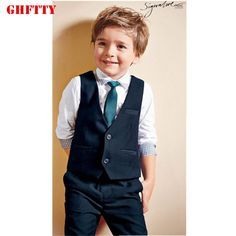 Kids clothes autumn outfit boys long sleeve shirt + pants sets of assembly tie covered baby boy clothes boys children clothing #Affiliate