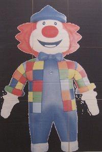 Theme-clown-jeu-queue-ane