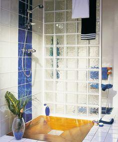 cloison douche brique de verre et placo - Bing Images   salle de ...
