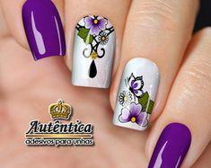 Gorgeous Nails, Gel Nails, Nail Designs, Nail Art, Toque, Beauty, Life, Rose Nails, Flower Nails
