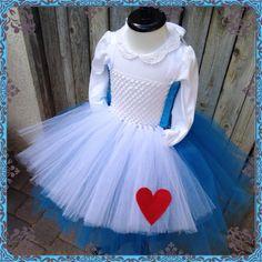 Alice in wonderland inspired tutu dress