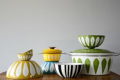 Cathrineholm Chartreuse Lotus Bowl