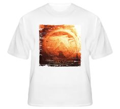 Aphex Twin Selected Ambient Works Volume II Album Cover Grunge Look T Shirt